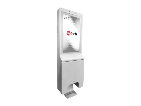 faytech Sanitization Station front with angle 01