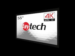 "faytech 4K 55"" Open Frame Capacitive Touch Monitor (FT55HDKTMCAPHBOB4K)"