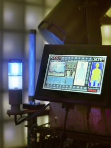 Touchscreen PC for machinery control