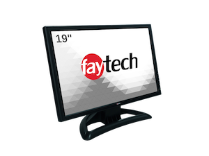 """faytech 19"""" Resistive Touch Monitor"""