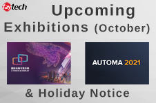 Upcoming Exhibitions & Holiday Notice