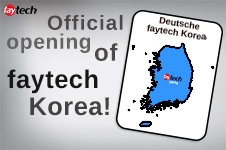 Official Opening of faytech Korea
