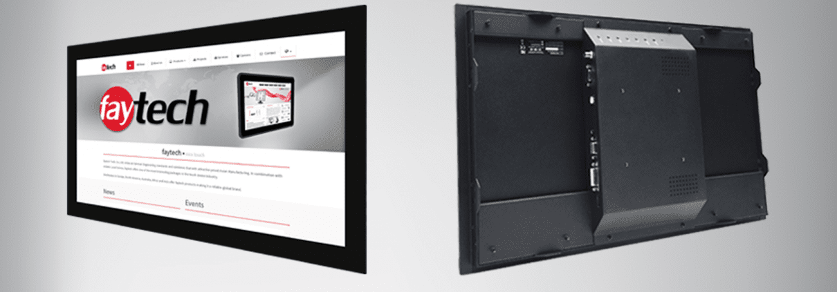 New Open Frame Touch Monitor Series